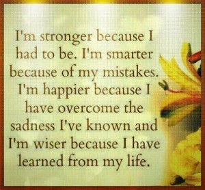 Stronger and Happier