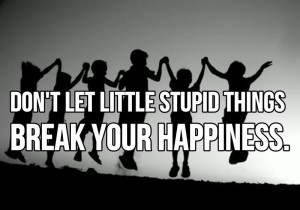dont-let-little-stupid-things-break-your-happiness-happiness-quote